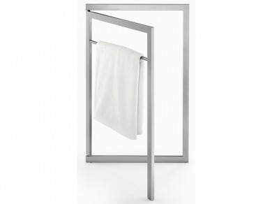 zack handtuchst nder linea edelstahl ebay. Black Bedroom Furniture Sets. Home Design Ideas