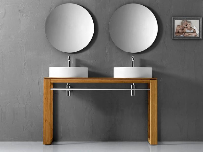 Waschbecken Designs Holz Runden Formen