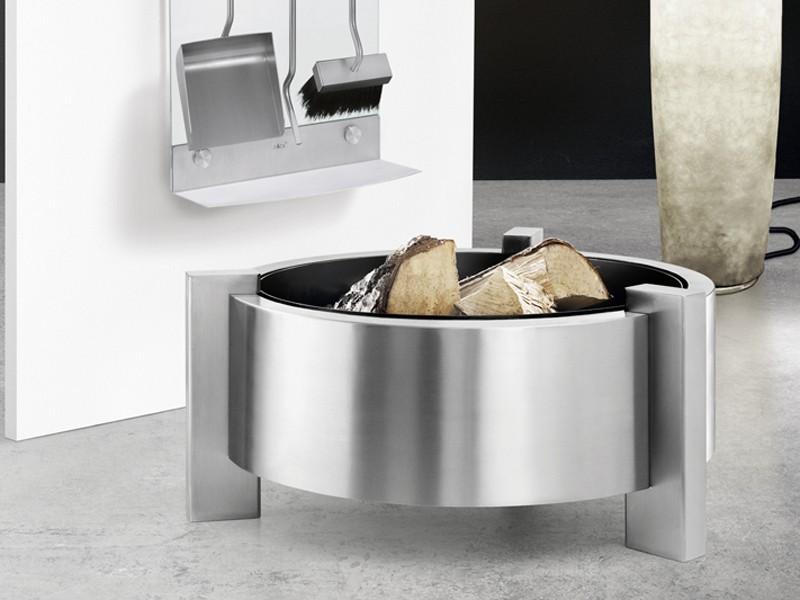 zack feuerschale calura feuerkorb terrassenofen edelstahl. Black Bedroom Furniture Sets. Home Design Ideas