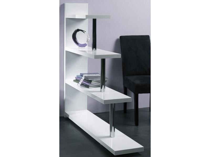 raumteiler regal abgestuft hochglanz wei ebay. Black Bedroom Furniture Sets. Home Design Ideas