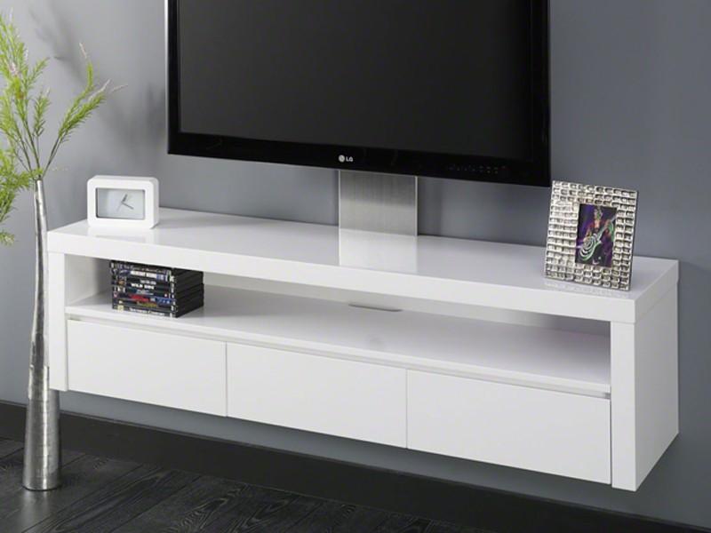 fernsehschrank hochglanz wei lack 3 schubladen schwebend sale. Black Bedroom Furniture Sets. Home Design Ideas