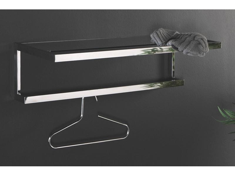 wandgarderobe flurgarderobe edelstahl exklusives design. Black Bedroom Furniture Sets. Home Design Ideas