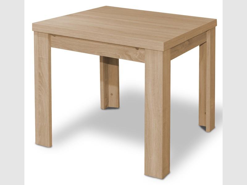 esstisch ausziehtisch quadratisch eiche s gerau 80x80cm. Black Bedroom Furniture Sets. Home Design Ideas