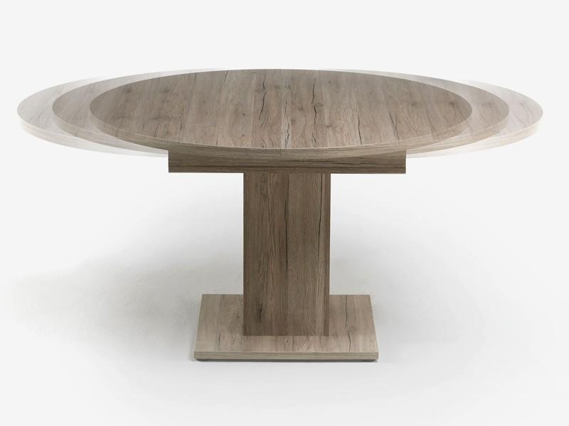 Esstisch Ausziehbar Rund Oval: Esstisch rund ausziehbar oval holz ...