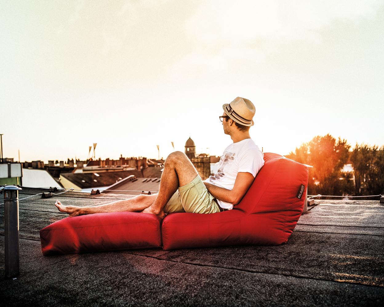 sitzsack outdoor 2 personen grijzemuren. Black Bedroom Furniture Sets. Home Design Ideas