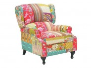 Ohrensessel Patchwork  Design Sale