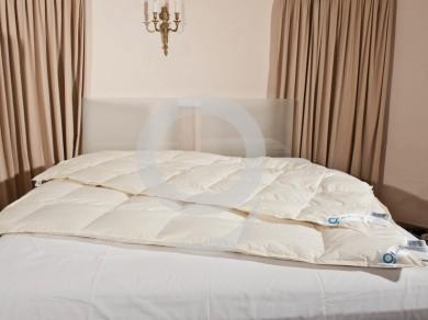 vierjahreszeiten bettdecke 135x200 steppbett nomite 90 daunen. Black Bedroom Furniture Sets. Home Design Ideas