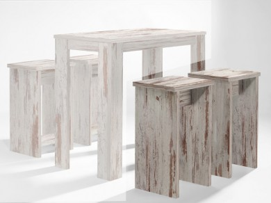 barhocker bistrohocker eiche antik 75 cm sale. Black Bedroom Furniture Sets. Home Design Ideas