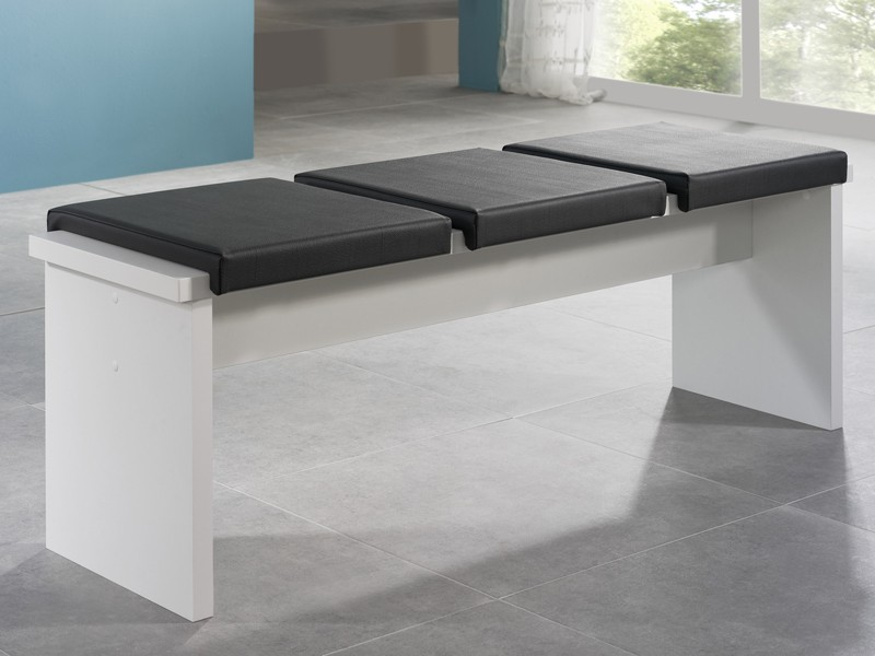 sitzbank wei 140 cm k chenbank esstischbank. Black Bedroom Furniture Sets. Home Design Ideas