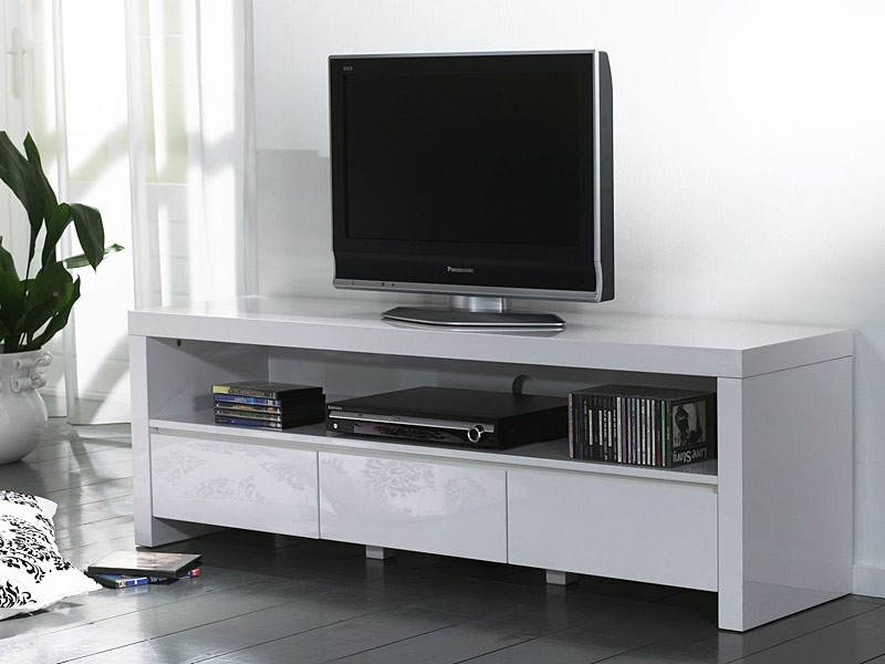 tv schrank wei hochglanz g nstig. Black Bedroom Furniture Sets. Home Design Ideas
