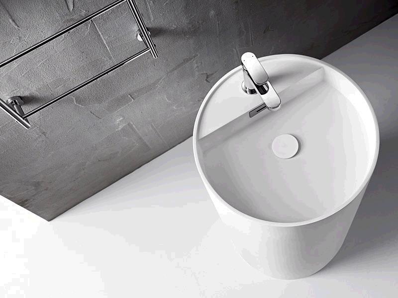 standwaschbecken waschbecken mattstone lineabeta wei momon. Black Bedroom Furniture Sets. Home Design Ideas