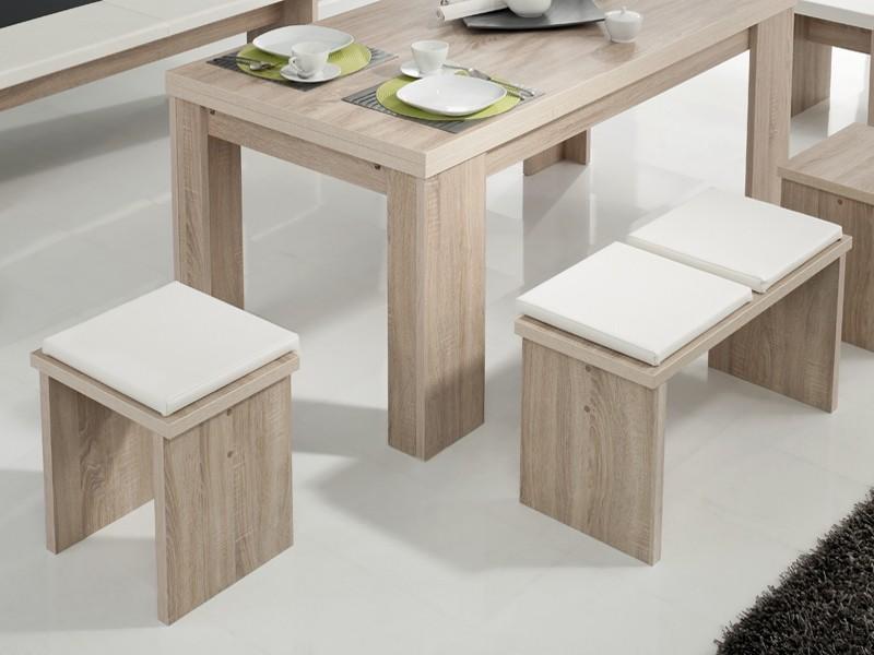 bankkissen stuhlkissen kunstleder wei 40x38. Black Bedroom Furniture Sets. Home Design Ideas