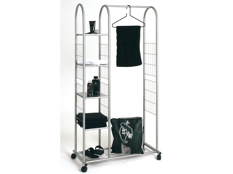 rollgarderobe garderobenst nder 171x85 ablagef cher. Black Bedroom Furniture Sets. Home Design Ideas