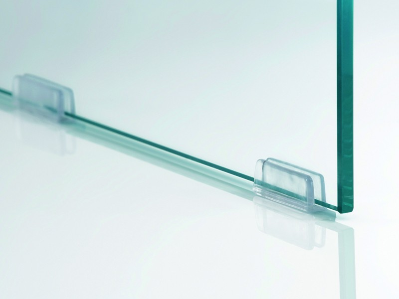 beistelltisch nachttisch glas ablagen wei 74x40x40. Black Bedroom Furniture Sets. Home Design Ideas