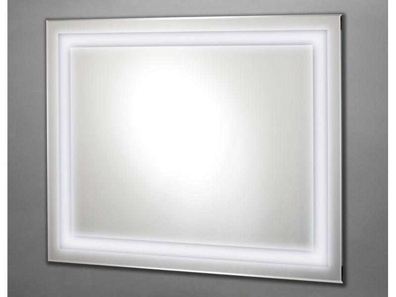 badspiegel beleuchtet lichtspiegel 90x70cm rundum. Black Bedroom Furniture Sets. Home Design Ideas
