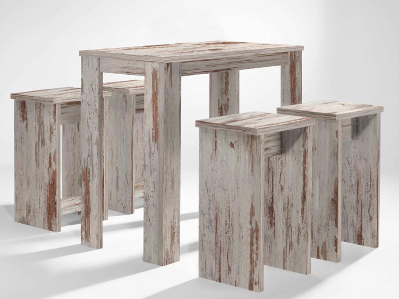 bartisch eiche antik stehtisch bistrotisch 120x60 sale. Black Bedroom Furniture Sets. Home Design Ideas