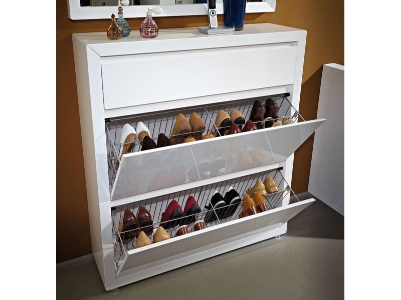 Raumteiler Schiebetüren Ikea ~ Schuhregal metall ikea  Schuhschrank Lack weiß Schuhkipper 2 Fächer
