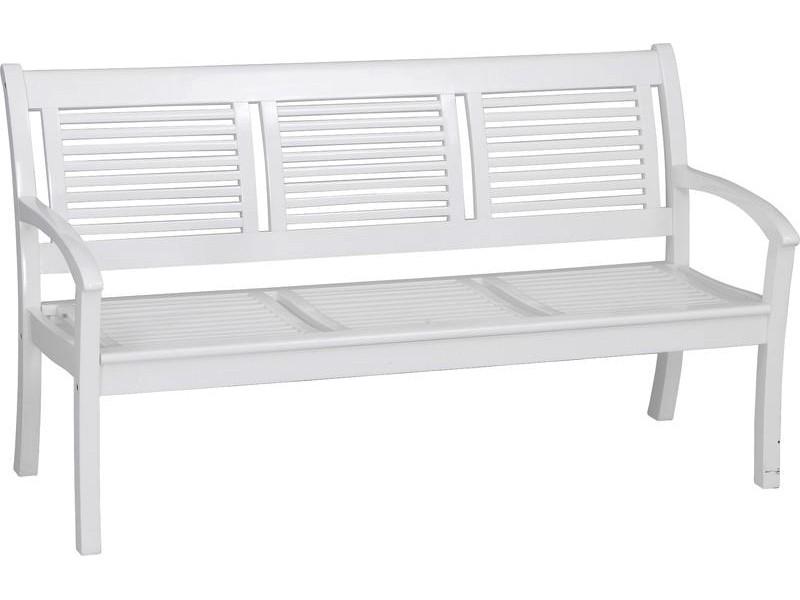 gartenbank wei akazienholz 143538 eine. Black Bedroom Furniture Sets. Home Design Ideas