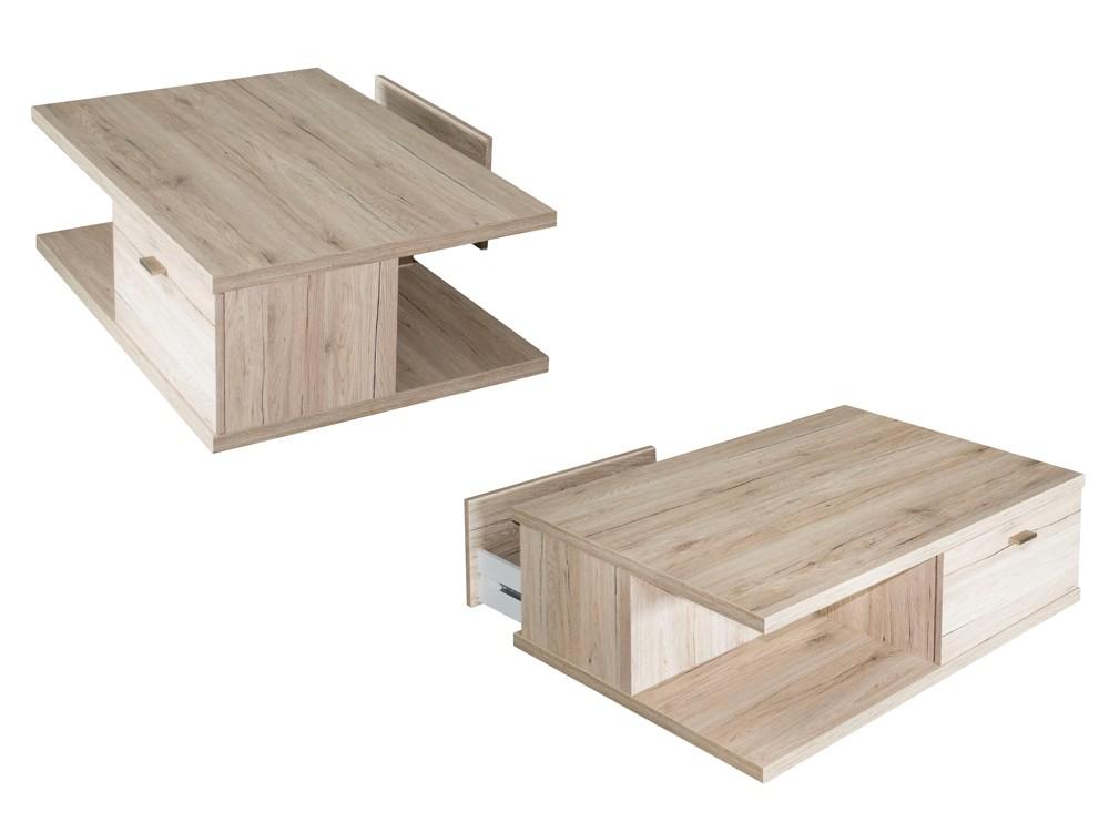 couchtisch wei eiche san remo. Black Bedroom Furniture Sets. Home Design Ideas