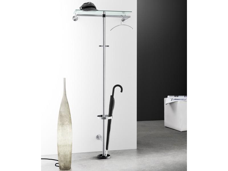 wandgarderobe edelstahl matt images. Black Bedroom Furniture Sets. Home Design Ideas