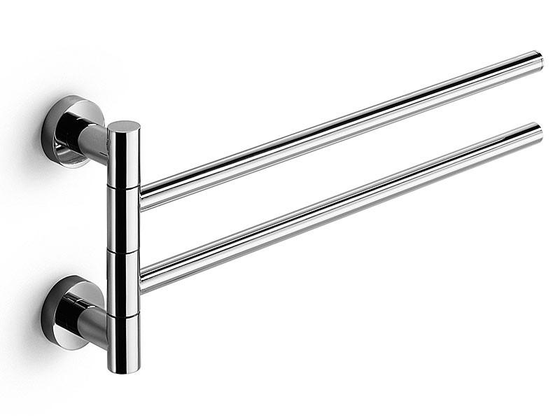 handtuchstange 2armig 41cm schwenkbar chrom lineabeta baketo. Black Bedroom Furniture Sets. Home Design Ideas