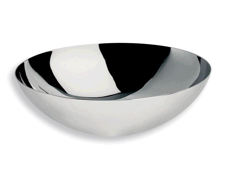 aufsatzbecken handwaschbecken 39cm edelstahl lineabeta. Black Bedroom Furniture Sets. Home Design Ideas
