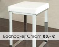 Badhocker Chrom